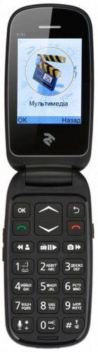 Мобильный телефон TWOE E181 Dual Sim Black
