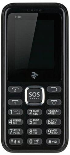 Мобильный телефон TWOE S180 Dual Sim Black