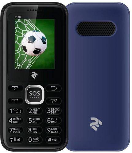 Мобильный телефон TWOE S180 Dual Sim Blue