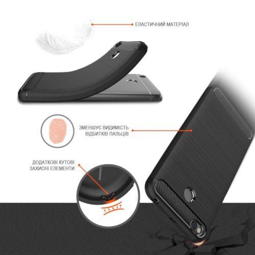 Чехол GlobalCase Leo для Huawei P Smart Plus (Black) недорого