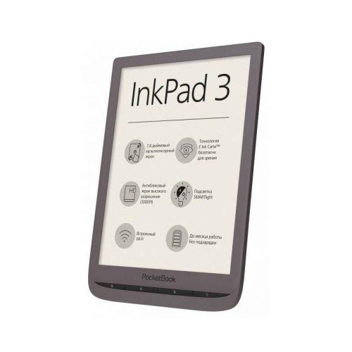 Электронная книга PocketBook InkPad 3 740 (PB740-X-CIS) Dark Brown в интернет-магазине