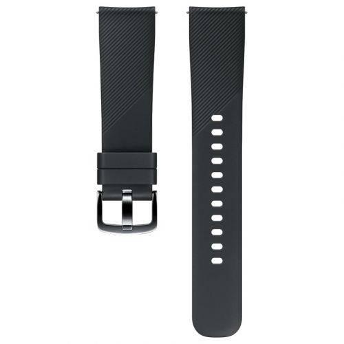 Ремешок для смарт-часов Samsung Silicone Band (ET-YSN60MBEGRU) Black купить