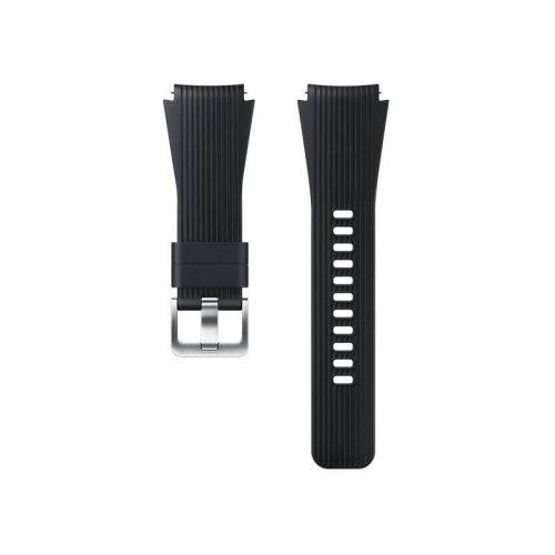 Ремешок для смарт-часов Samsung Silicone Band for Galaxy Watch 46mm (ET-YSU80MBEGRU) Black купить