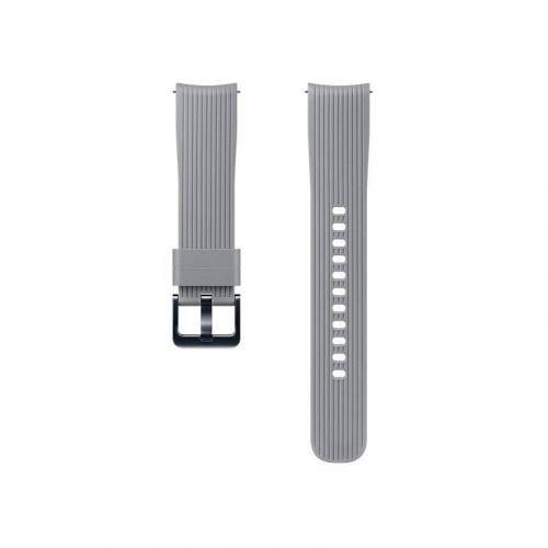 Ремешок для смарт-часов Samsung Silicone Band for Galaxy Watch 42mm (ET-YSU81MJEGRU) Grey купить