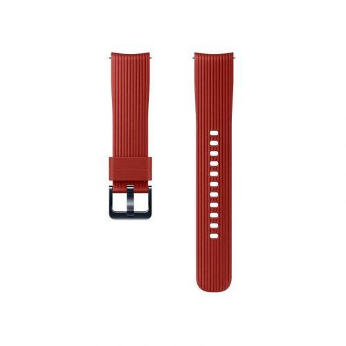 Ремешок для смарт-часов Samsung Silicone Band for Galaxy Watch 42mm (ET-YSU81MREGRU) Red купить