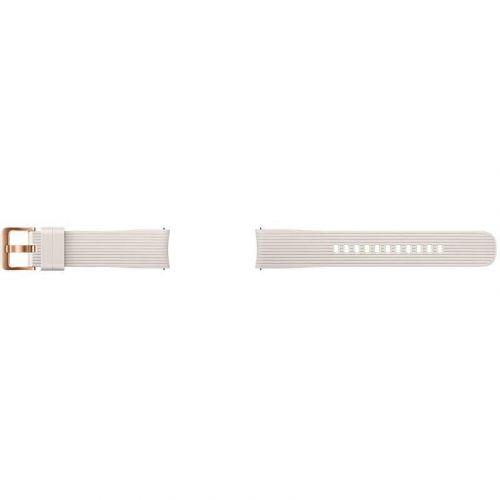 Ремешок для смарт-часов Samsung Silicone Band for Galaxy Watch 42mm (ET-YSU81MSEGRU) Silver