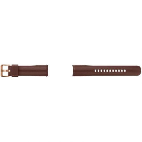 Ремешок для смарт-часов Samsung Silicone Band for Galaxy Watch 42mm (ET-YSU81MAEGRU) Brown