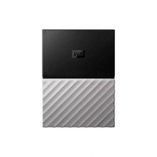 Внешний жесткий диск 1Tb Western Digital My Passport Ultra (WDBTLG0010BGY-WESN) Gray