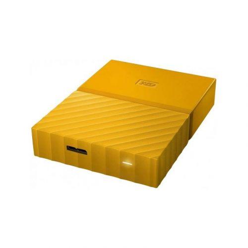 Внешний жесткий диск 4Tb Western Digital My Passport (WDBYFT0040BYL-WESN) Yellow купить