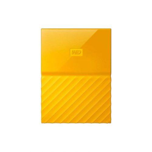 Внешний жесткий диск 4Tb Western Digital My Passport (WDBYFT0040BYL-WESN) Yellow