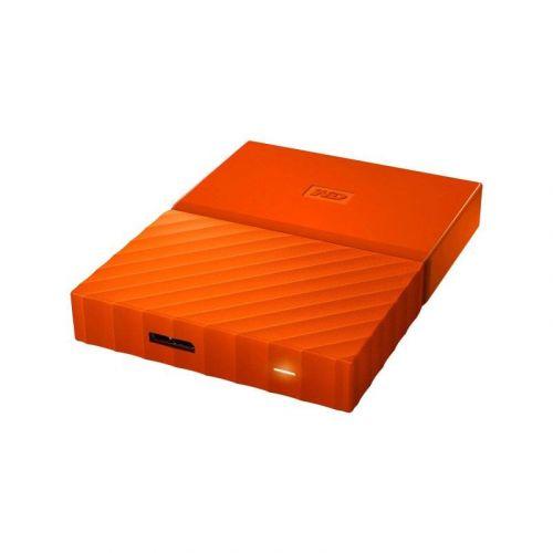 Внешний жесткий диск 2Tb Western Digital My Passport (WDBS4B0020BOR-WESN) Orange купить