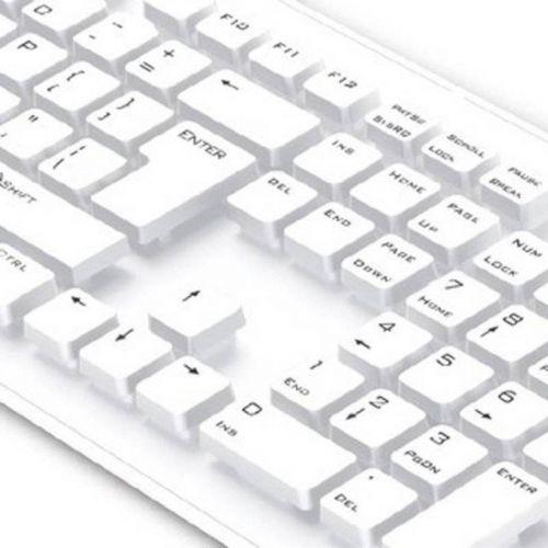 Клавиатура Genius SlimStar 130 USB (31300726104) White Ru купить