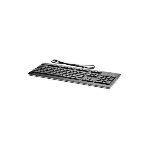 Клавиатура HP USB Keyboard (QY776AA) Black купить