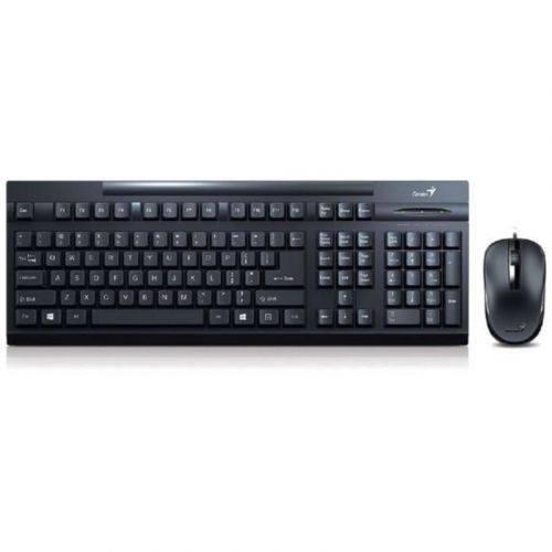 Комплект Genius КМ-125 USB (31330209106) Black Ukr