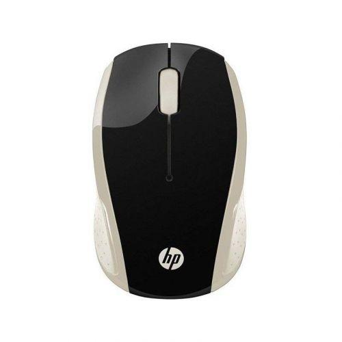 Мышь HP Wireless 200 Silk (2HU83AA) Gold