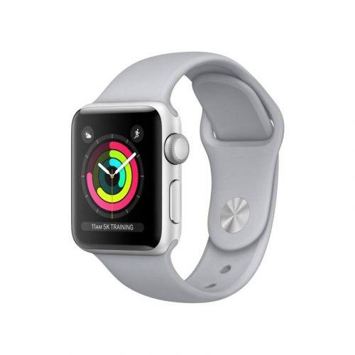 Смарт-часы Apple Watch Series 3 38mm GPS (MQKU2) Silver Aluminium Case with Fog Sport Band купить