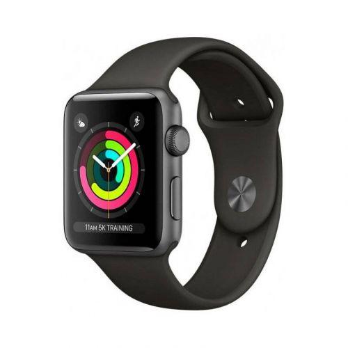 Смарт-часы Apple Watch Series 3 42mm GPS (MR362) Space Grey Aluminium Case with Grey Sport Band купить