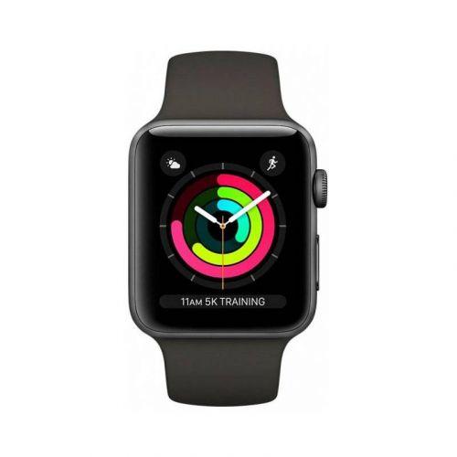 Смарт-часы Apple Watch Series 3 42mm GPS (MR362) Space Grey Aluminium Case with Grey Sport Band