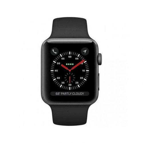 Смарт-часы Apple Watch Series 4 40mm GPS (MU662) Space Gray Aluminum Case with Black Sport Band