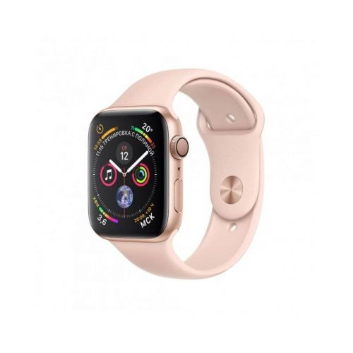 Смарт-часы Apple Watch Series 4 40mm GPS (MU682) Gold Aluminum Case with Pink Sand Sport Band купить