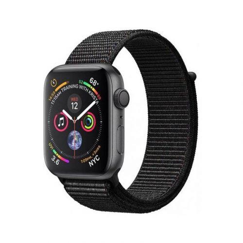 Смарт-часы Apple Watch Series 4 40mm GPS (MU672) Space Gray Aluminum Case with Black Sport Loop купить