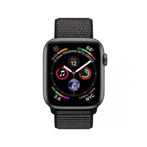 Смарт-часы Apple Watch Series 4 40mm GPS (MU672) Space Gray Aluminum Case with Black Sport Loop