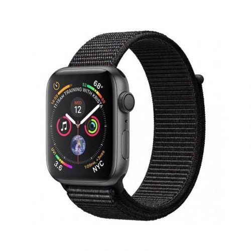 Смарт-часы Apple Watch Series 4 44mm GPS (MU6E2) Space Gray Aluminum Case with Black Sport Loop купить