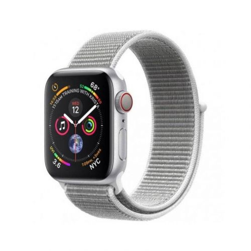 Смарт-часы Apple Watch Series 4 40mm GPS (MU652) Silver Aluminum Case with Seashell Sport Loop купить