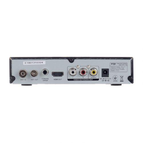 ТВ-ресивер Ergo DVB-T2 1638 купить