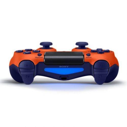 Беспроводной геймпад Sony PlayStation Dualshock v2 Sunset Orange в Украине