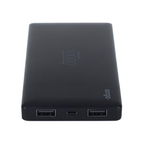 Портативний акумулятор 10000mAh Ergo LP-83 Black купить