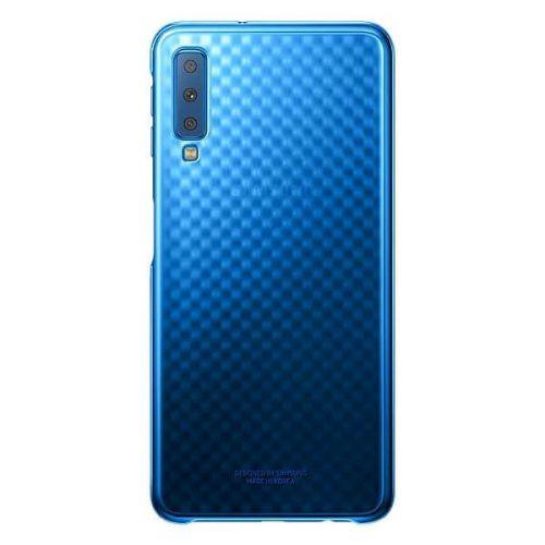 Чехол Samsung Gradation Cover для Galaxy A7 2018 (Blue)