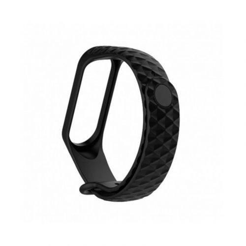 Ремешок ArmorStandart Ribbed для Xiaomi Mi Band 3 (ARM52094) Black купить
