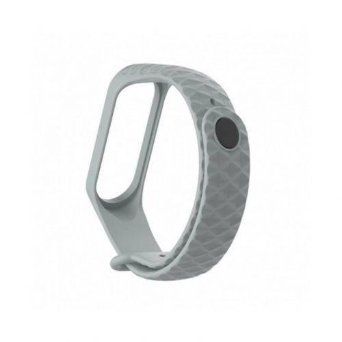 Ремешок ArmorStandart Ribbed для Xiaomi Mi Band 3 (ARM52103) Light Grey купить