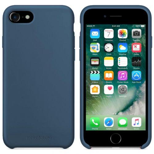 Чехол MakeFuture Silicone для Apple iPhone 7 (MCS-AI7BL) Blue