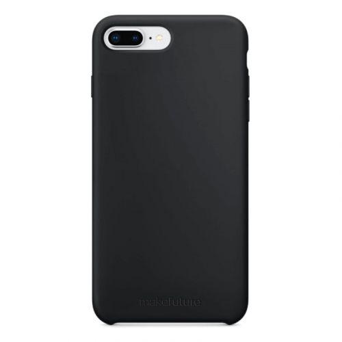 Чехол MakeFuture Silicone для Apple iPhone 7 Plus (MCS-AI7PBK) Black