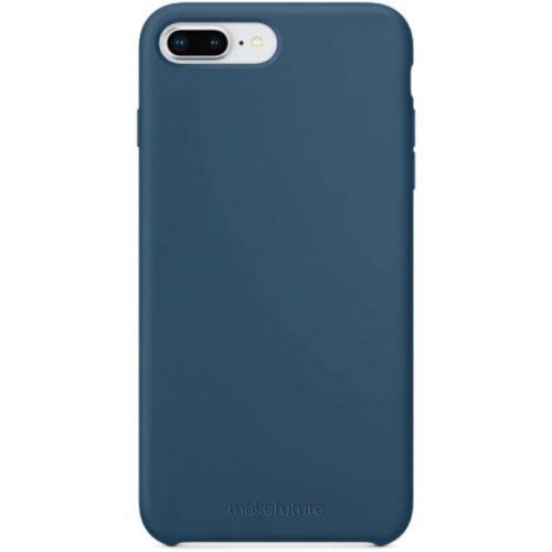 Чехол MakeFuture Silicone для Apple iPhone 7 Plus (MCS-AI7PBL) Blue