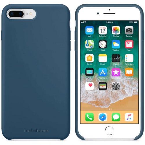 Чехол MakeFuture Silicone для Apple iPhone 7 Plus (MCS-AI7PBL) Blue купить