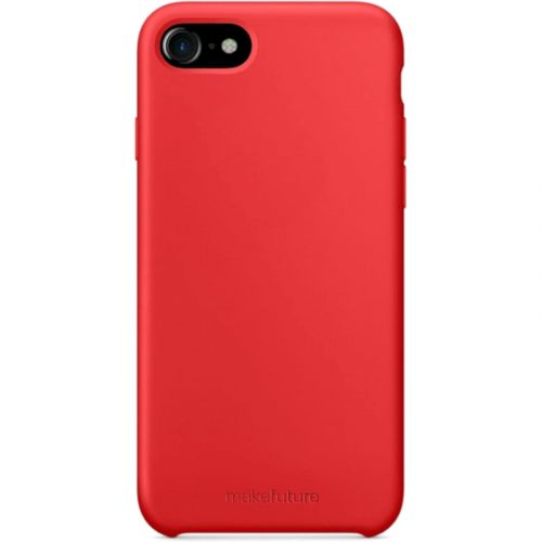 Чехол MakeFuture Silicone для Apple iPhone 7 (MCS-AI7RD) Red