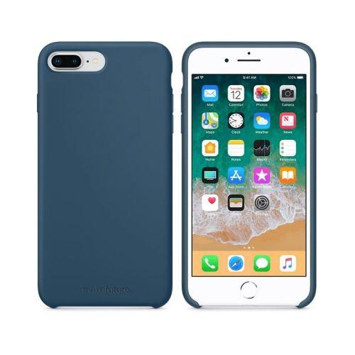 Чехол MakeFuture Silicone для Apple iPhone 8 Plus (MCS-AI8PBL) Blue купить