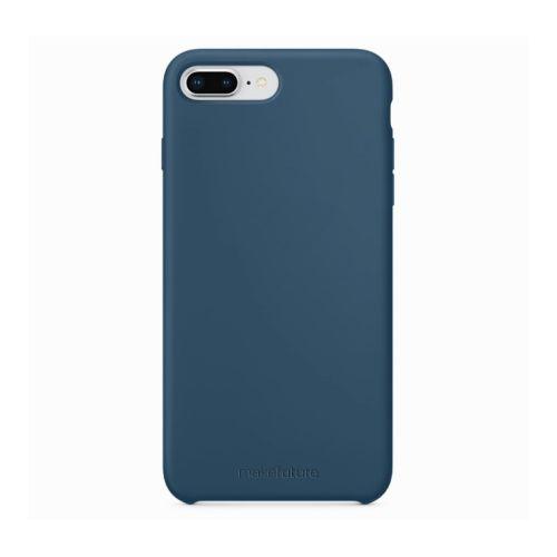 Чехол MakeFuture Silicone для Apple iPhone 8 Plus (MCS-AI8PBL) Blue