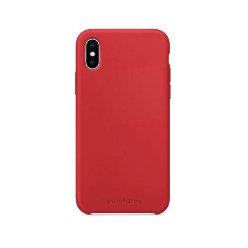 Чехол MakeFuture Silicone для Apple iPhone X (MCS-AIXRD) Red