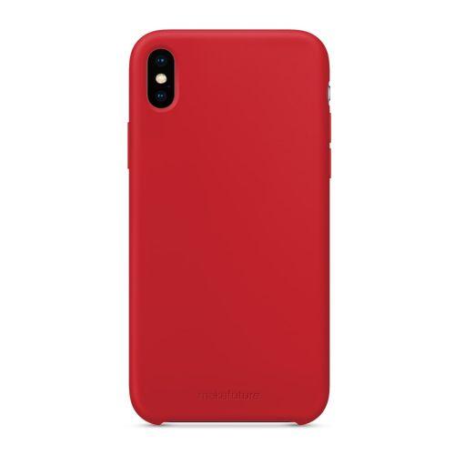 Чехол MakeFuture Silicone для Apple iPhone XS Max (MCS-AIXSMRD) Red