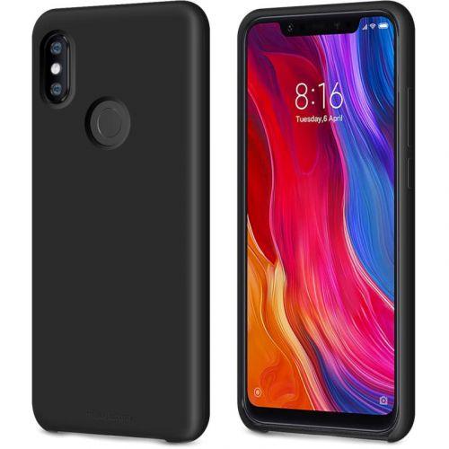 Чохол MakeFuture Silicone для Xiaomi Mi 8 (MCS-XM8BK) Black купить