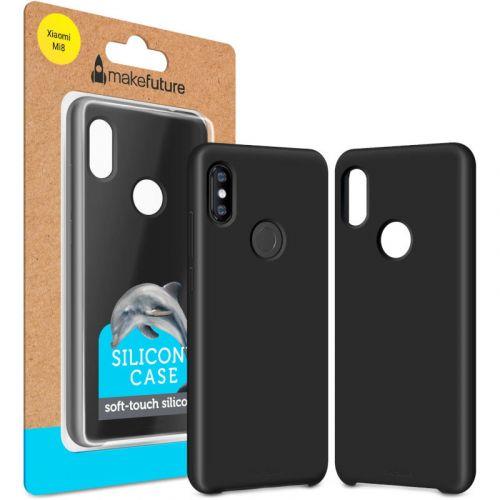 Чохол MakeFuture Silicone для Xiaomi Mi 8 (MCS-XM8BK) Black недорого