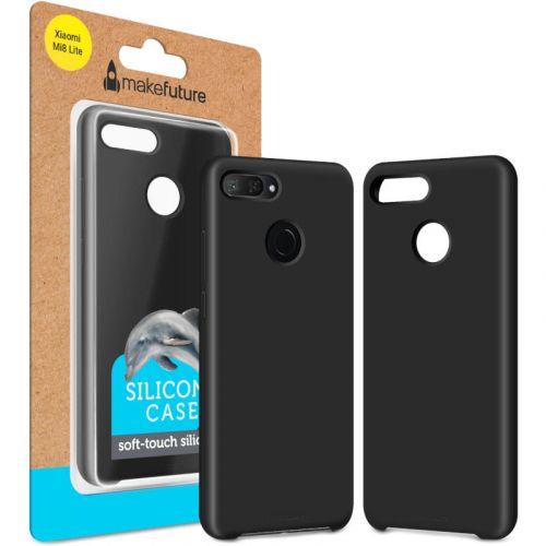 Чехол MakeFuture Silicone для Xiaomi Mi 8 Lite (MCS-XM8LBK) Black недорого