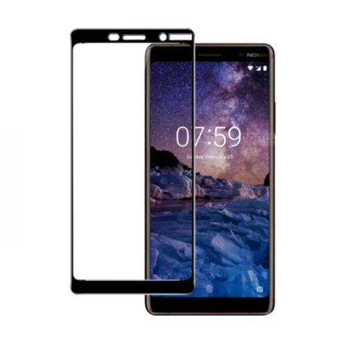 Защитное стекло ArmorStandart Full-Screen Fullglue для Nokia 7 Plus Black купить
