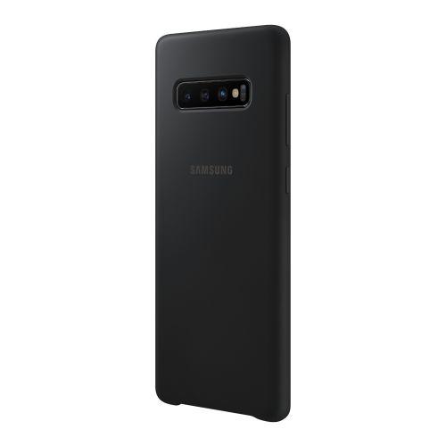 Чехол Samsung Silicone Cover для Galaxy S10 Plus (EF-PG975TBEGRU) Black