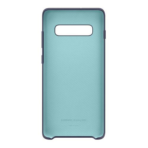 Чехол Samsung Silicone Cover для Galaxy S10 Plus (EF-PG975TNEGRU) Navy в Украине