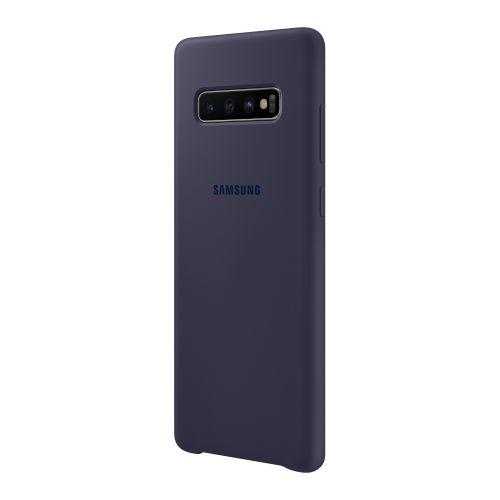 Чехол Samsung Silicone Cover для Galaxy S10 Plus (EF-PG975TNEGRU) Navy